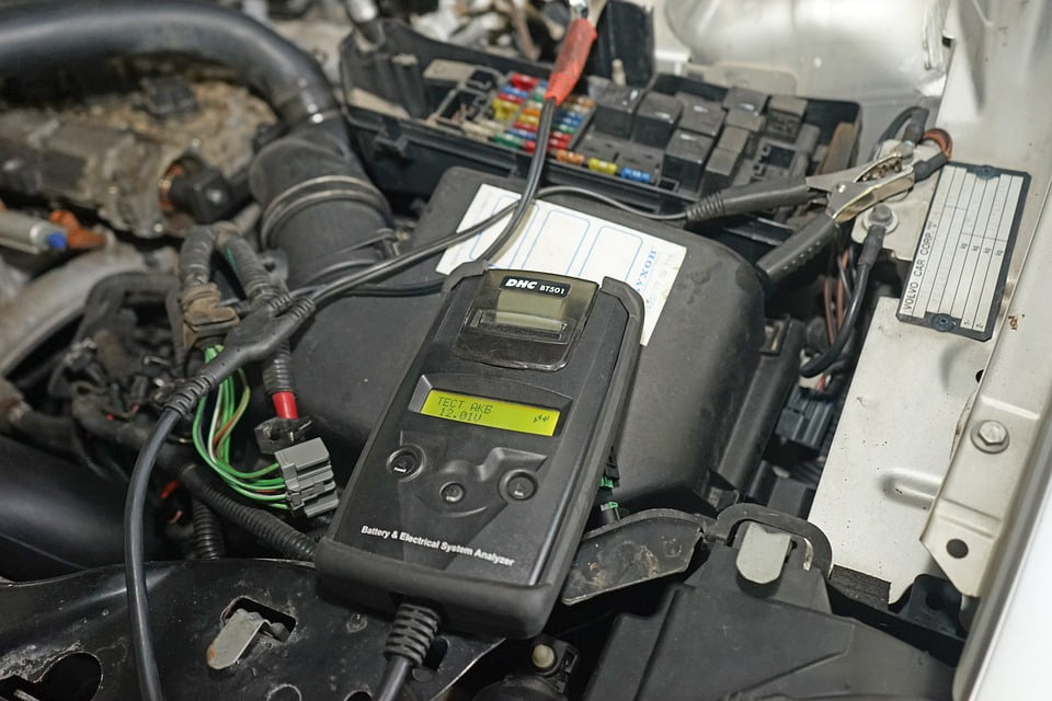 Change of Battery or Disconnection